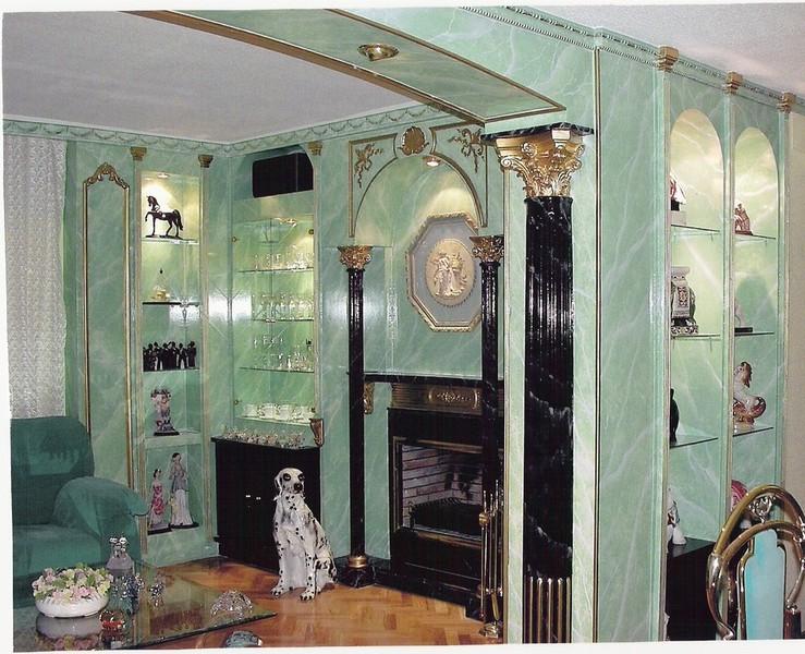 Jaimedecora pinturas decorativas muebles mural - Mueble de escayola ...
